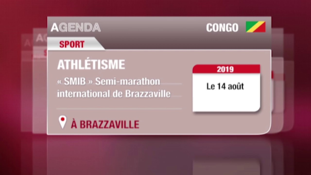 Embedded thumbnail for Athlétisme : Semi marathon international de Brazzaville